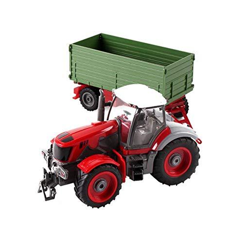 332PageAnn Rc Ferngesteuerter Traktor Spielzeug Mit Anhänger - 6 Kanal 1:28 Simulationsfahrzeug Geburtstagsgeschenk Für Kinder*