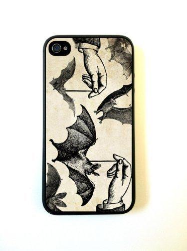 Dangling Bats Halloween iphone 5c Case - For iphone 5c G - Designer TPU Case Verizon ATT Sprint (Bat 5c Phone Case)