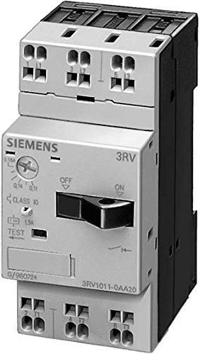 SIEMENS 3RV1 - INTERRUPTOR AUTOMATICO S0 1 25A REGULACION 1 25 1NA+1NC
