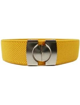 Cintura Elasticizzata per Bambini 1-11 Anni, Singolo Colore