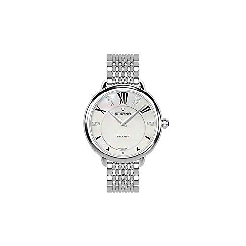 Eterna Lady Eterna Quartz Watch, ETA 956.412, 34mm, Diamonds, 2800.41.66.1743