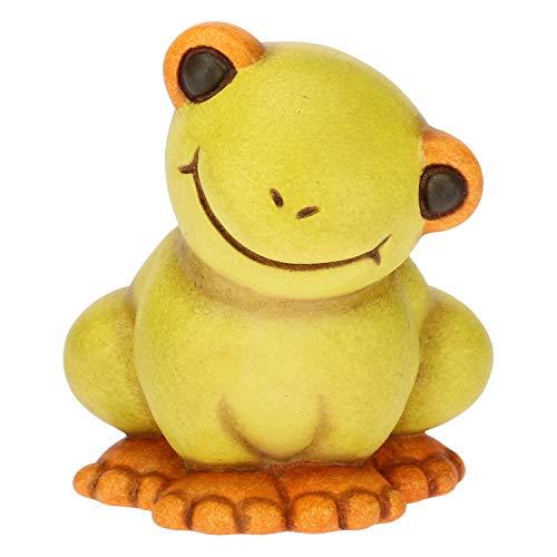 Thun® - mini rana sorridente - animali soprammobile da collezione - ceramica - i classici