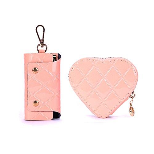 Lady diamond heart-shaped porte-monnaie/Sac de pièce de monnaie/Sac à clés-A A