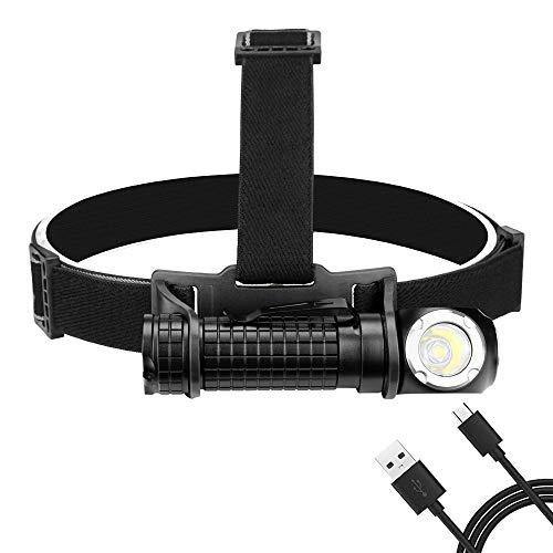 Kopflicht LED Wasserdichte Scheinwerfer Scheinwerfer USB Lade Kopf Taschenlampe Magnet Taschenlampe Für Auto Reparatur Laufschuhe