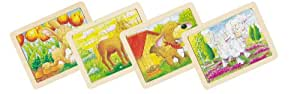 goki 57807 - Animaux Puzzle Mini