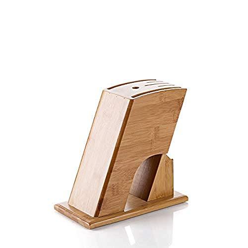 zjwan messerblock Holz Messerblock Ständer Messer Lagerregal