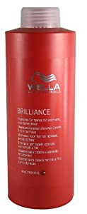 Wella Brilliance Shampoo Fine/Normal Litre