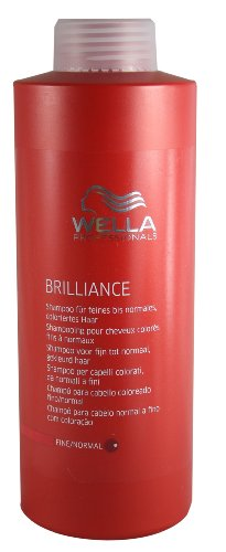 Haar Polnisch (Wella Professionals Brilliance Shampoo, 1er Pack (1 x 1000 ml))