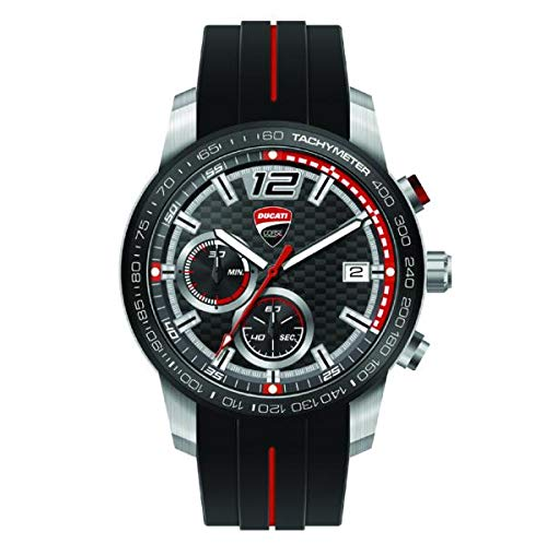 Ducati Corse Redline Quarz-Chronograph Armbanduhr Uhr -