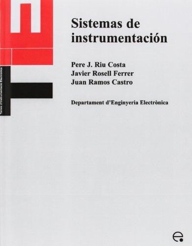 Sistemas de Instrumentacin por Pere Joan Riu Costa