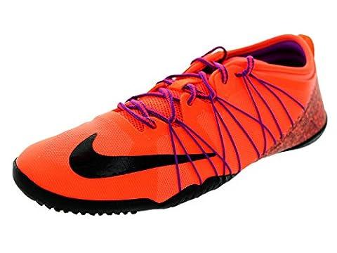 Nike Free 1.0 Kreuz Bionic 2 Hyper Orange / schwarz / vvd Lila Trainingsschuh 7 Us