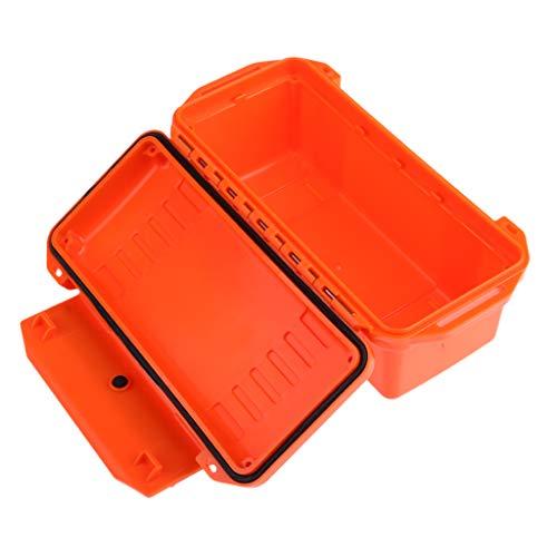P Prettyia Werkzeugbox/Werkzeugkoffer / Werkzeugkasten Camping Werkzeug Organizer - Orange