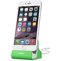 Belkin - Base Dock de Carga y sincronización para iPhone/iPad /iPhone 8/8+, Verde
