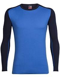Icebreaker Tech Crewe sous Vêtement Homme