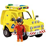Fireman Sam Rescue Vehicle With Sound, Lights & Tom Figure