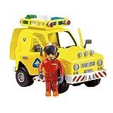 Fireman Sam Rescue Vehicle With Sound, Lights & Tom Figure
