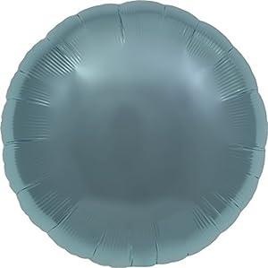 """North Star balón de papel de aluminio 18""""""""-45cm Redondo Azul Pastel Pastel Blue confeccionada Individual, Azul, 5ns00736-01"""