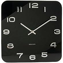 Karlsson KA4398 Orologio da Muro Vintage Quadrato