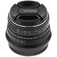 P Prettyia 25mm F/1.8 Manueller Fokus Fixed Lens Objektiv Für Fujifilm Fuji X Mount X-Pro1 X-Pro2