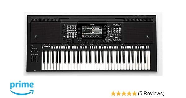 Yamaha PSR-S775 61-Key Keyboard (Black): Amazon in: Musical Instruments