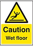 Caledonia Schilder 14223 K CAUTION Wet Floor Sign, 400 mm x 300 mm, starrer Kunststoff