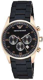 Emporio Armani Men's Chronograph Quartz Watch with Stainless Steel Strap AR5905 (B004D97EN0)   Amazon price tracker / tracking, Amazon price history charts, Amazon price watches, Amazon price drop alerts