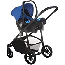 Nurse Roller 2/3 - Sistema modular de silla de paseo y capazo, color royal / negro