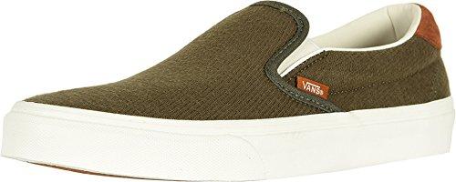 Skate Schuhe Flanell (Vans Unisex Classic (Checkerboard ) Slip-On Skate Shoe)