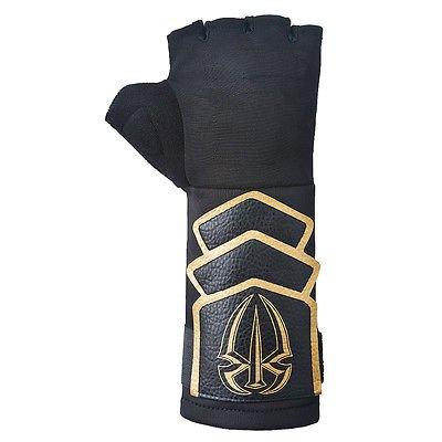wwe-roman-reigns-black-gold-authentic-glove-armband-set