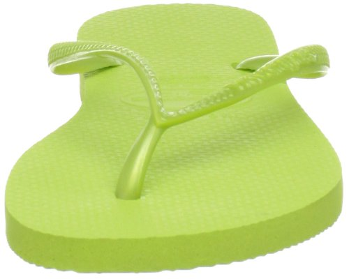 Havaianas - Slim - Tongs - Fille Green (Lime Green 4185)