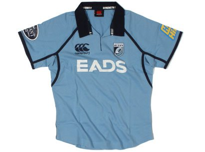 Cardiff Blues 2012/13 Home Damen Rugby Shirt, Damen, 12 (Shirt Rugby Damen Home)