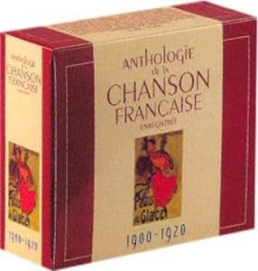 Anthologie de la Chanson Française Enregistrée 1900-1920 (Coffret 10 CD)