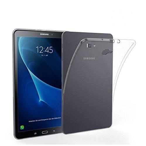 "MB Accesorios Funda Transparente Silicona TPU Samsung Galaxy Tab A6 2016 T580 10.1"" Tablet"
