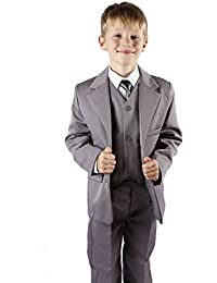 Boys Light Grey Suit Age 1-15 Years