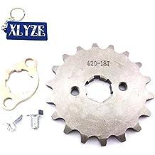 XLYZE 420 18 dientes engranaje de piñón de cadena frontal de 20 mm para chino Quad