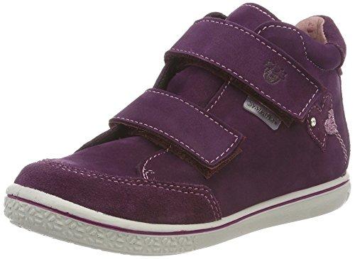 RICOSTA Mädchen Lara Hohe Sneaker, Rot(merlot) 364), 23 EU (Sneaker Boot Mädchen)