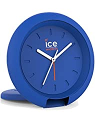 Ice-Watch 015195Ice Travel Clock Orologio unisex analogico in plastica luce allarme blu