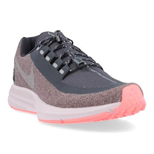 more photos 26a30 4ce98 Nike W Zm Winflo 5 Run Shield, Zapatillas de Running para Mujer, Morado (