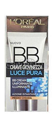chiave giovinezza luce pura - bb cream Glättungscreme Beleuchtung Medium klar 50 ml -