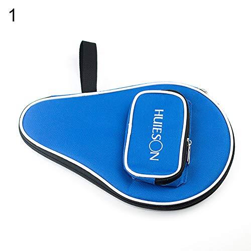 SEGRJ Professionelles Tischtennis Racket Case Cover für 1 Ping Pong Paddle Bat 3 Bälle