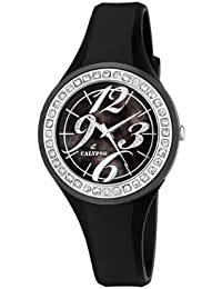 Calypso K5567/3 - Reloj de mujer de cuarzo, correa de plástico color negro