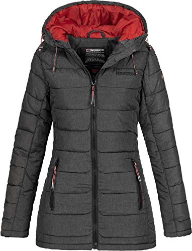 Geographical Norway - Doudoune Femme Astana Gris-Taille - 1