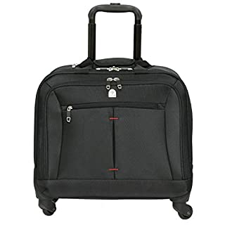 Tassia High Quality Laptop Roller Case - Large Stowage Area - 4 Wheel Spinner