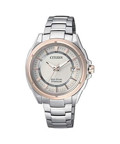 Orologio donna da polso citizen eco-drive supertitanio fe6044-58a