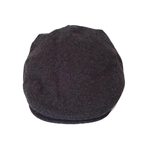 Femmes Mesdames Casquette Unisexe 'Paper Boy Baker' Flat Hat Chapeaux/Chapeau Hommes Ash Grey