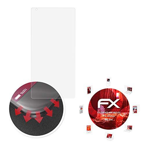atFolix Schutzfolie passend für Bluboo D5 Pro Folie, entspiegelnde & Flexible FX Bildschirmschutzfolie (3X)