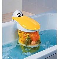 Disponible a compter du 1 fevrier 2009 La boite à jouets Pélican de BABYSUN NURSERY est très pratique. S'accrochant facilement sur le rebord de la baignoire, cette boite Pélican, dont le bec sert de couvercle, permet aux enfants de ranger tous leurs ...