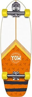 Yow Surf Mundaka Road Tabla de Skate, Unisex Adulto, Multicolor, Talla Única