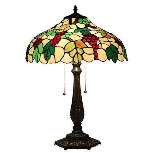 DONG Lampe de Table de Style Tiffany Lampe de Jardin Salon européen Chambre Chambre Lampe de Chevet Bar Café Western Restaurant Club Lampe de Bureau 68,0 cm * 51,5 cm * 34,5 cm