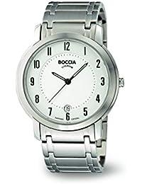 Boccia Herren-Armbanduhr XL Trend Analog Titan 3552-04
